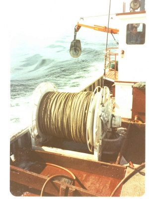 The First Self Hauling Rope Reels