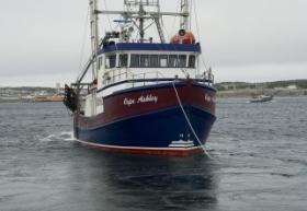 """Cape Ashley"" Skipper Dwight Spence, Port Aux Choix, Newfoundland"