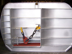 ... or peaks with excellent ground contact and yet the door is good on mud as hard ground and can be used in shallow water to very deep. & Bison Trawl Doors. | Crimond Enterprises pezcame.com